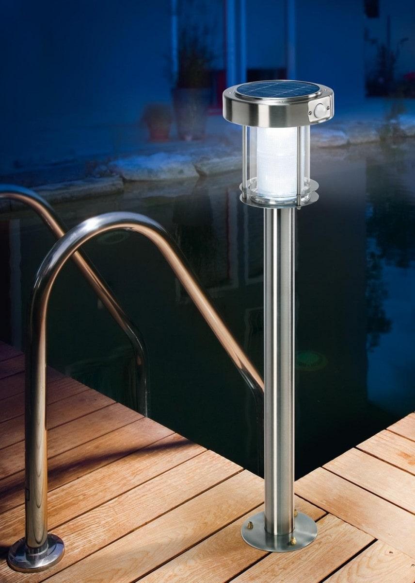Lampioncino da giardino solare a led ancona ecoworld shop for Filtro per laghetto ad energia solare