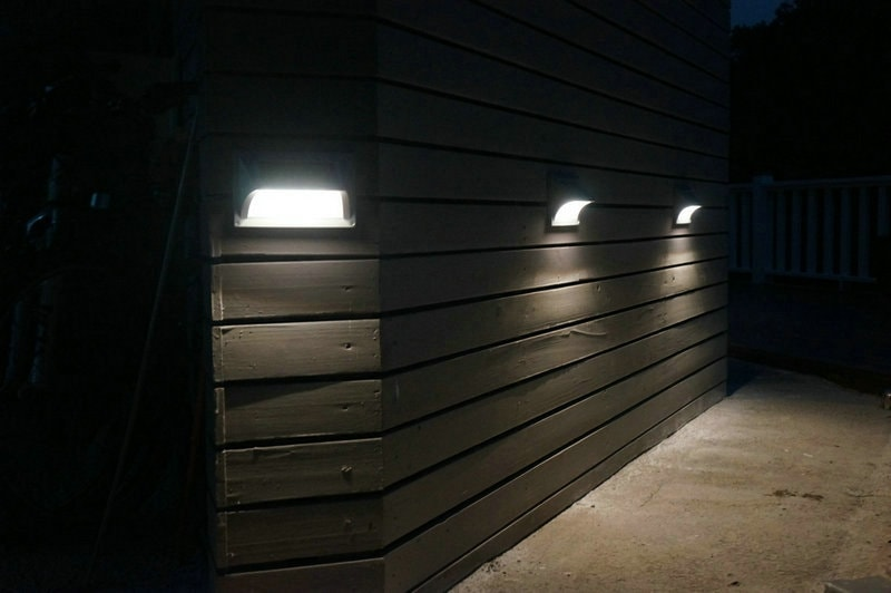 Segnapasso a led solare da esterno ecoworld shop