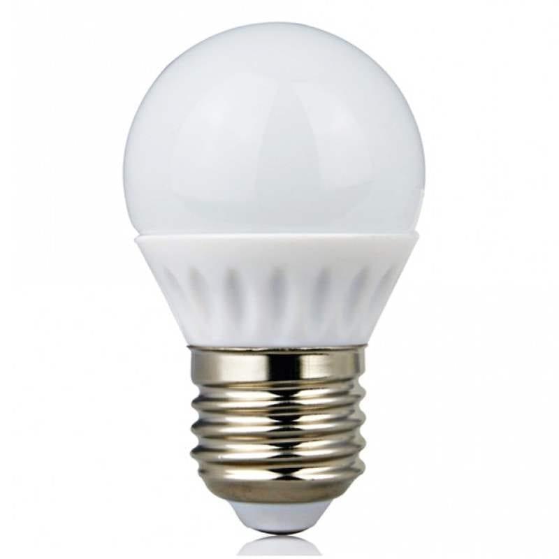 Lampadina led 4 watt attacco e27 risparmia l 39 80 for Lampade a led watt