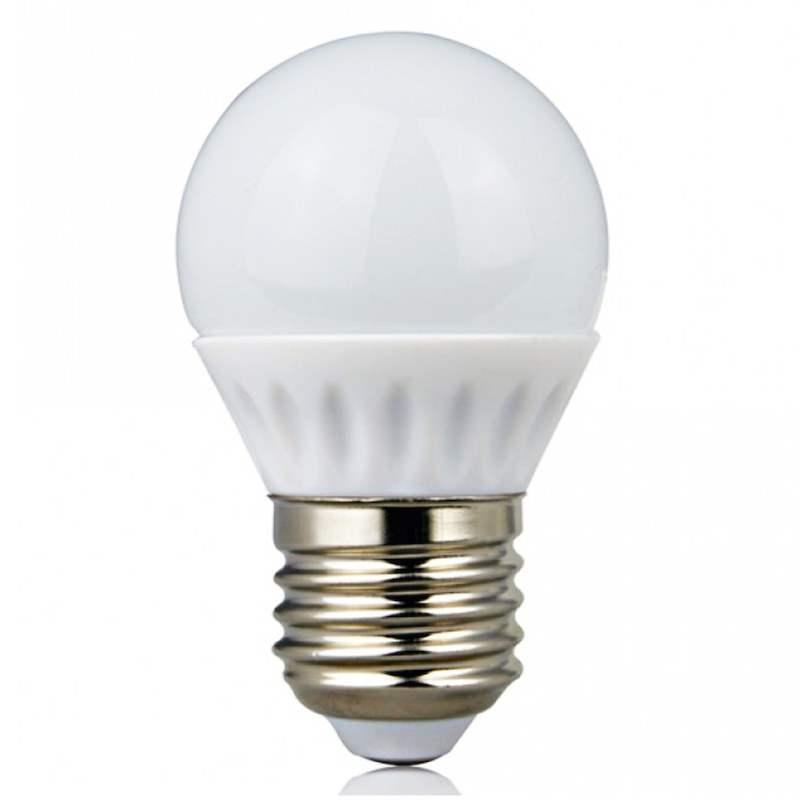 Lampadina led 4 watt attacco e27 risparmia l 39 80 for Lampadine ikea led