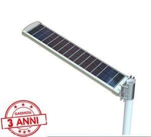 Lampione solare per illuminazione stradale eprivata con garanzia di 3 anni