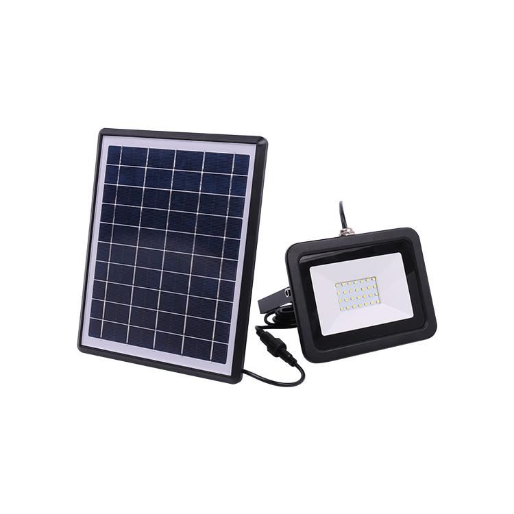 faretto solare 200 lumen per illuminazione esterna