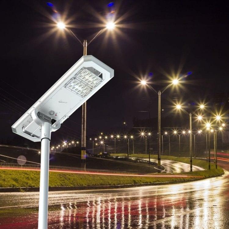 lampione solare stradale