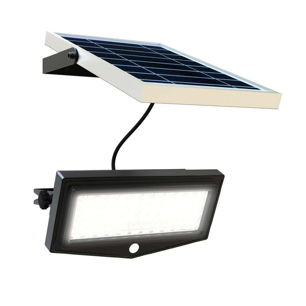 Luce Per Esterno Con Pannello Solare.Faro A Led Solare Mille 1000 Lumen Faro Con Pannello Solare Potente