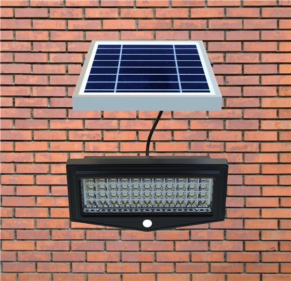 Pannello Solare Con Faretto : Faro a led solare per esterno lumen ecoworld shop