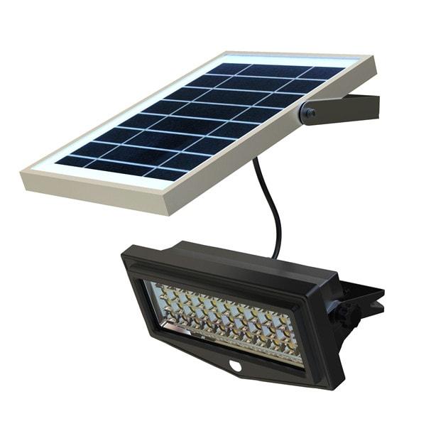 Faro da Esterno con Pannello Fotovoltaico e sensore di movimento