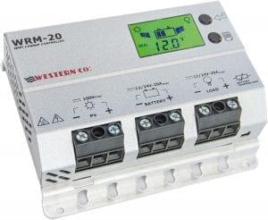Regolatore di carica 20 amper western & Co WRM-20