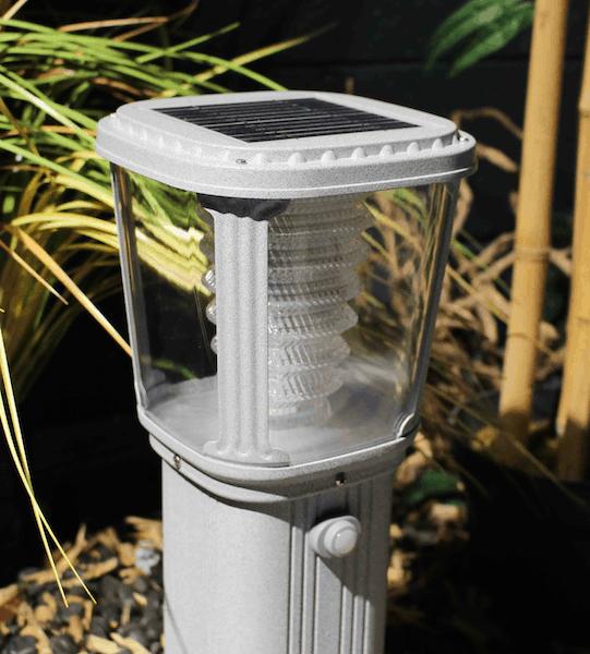 Pannello fotovoltaico del lampioncino a led solare