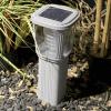Pannello solare per ricarica batterie interne al lampioncino a led