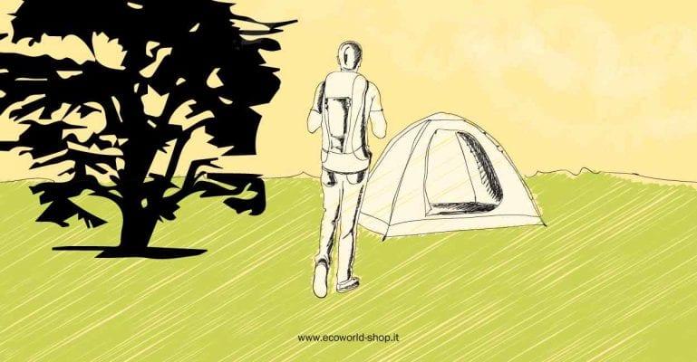 Vacanze con tenda ecosotenibili