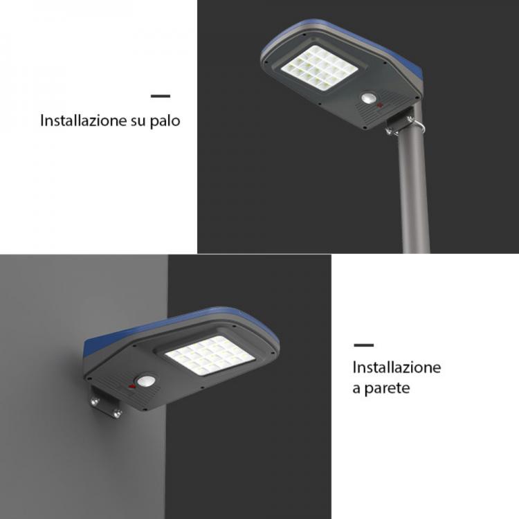 modalità di installazione lampioni solari