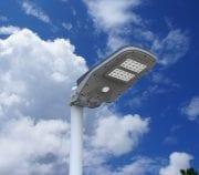 Lampione Giardino ad Energia Solare con Sensore di Movimento