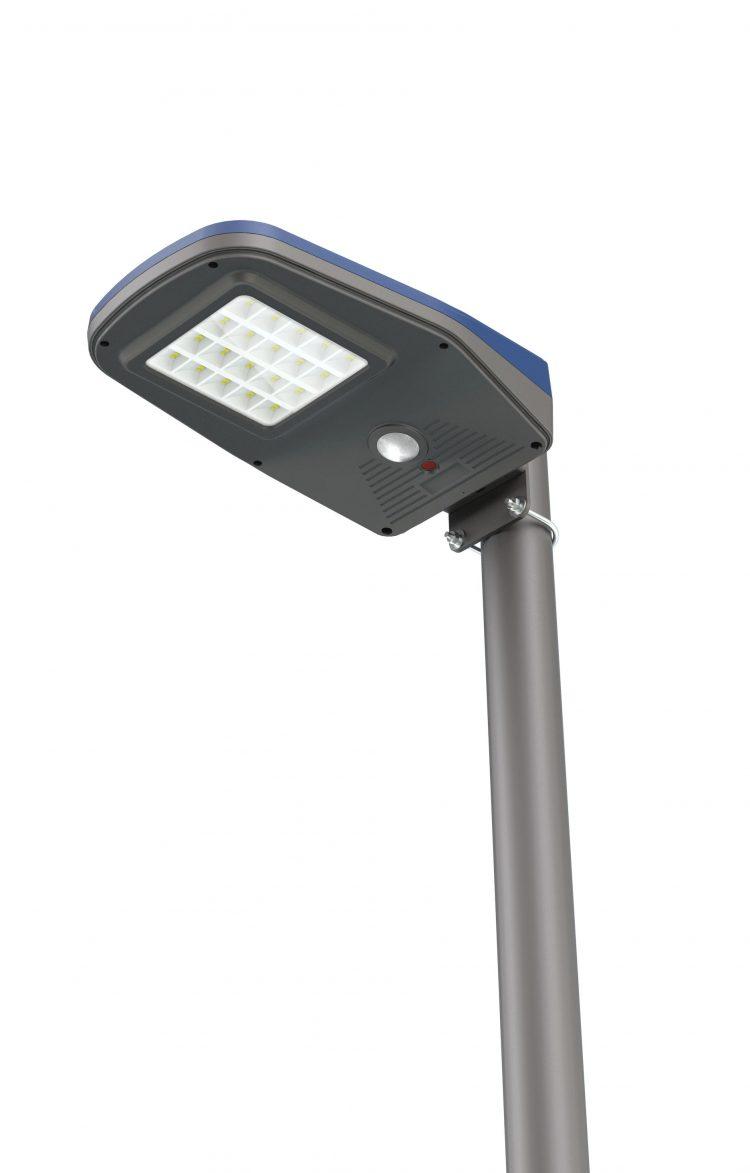 lampione solare 150 watt da 2000 Lumen