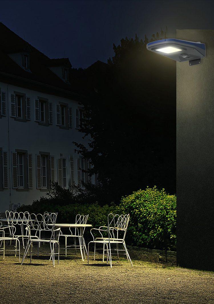 lampione solare da giardino 2000 lumen