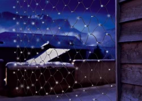 Rendi unico il Natale con Luci di Natale Solari 200 led bianchi