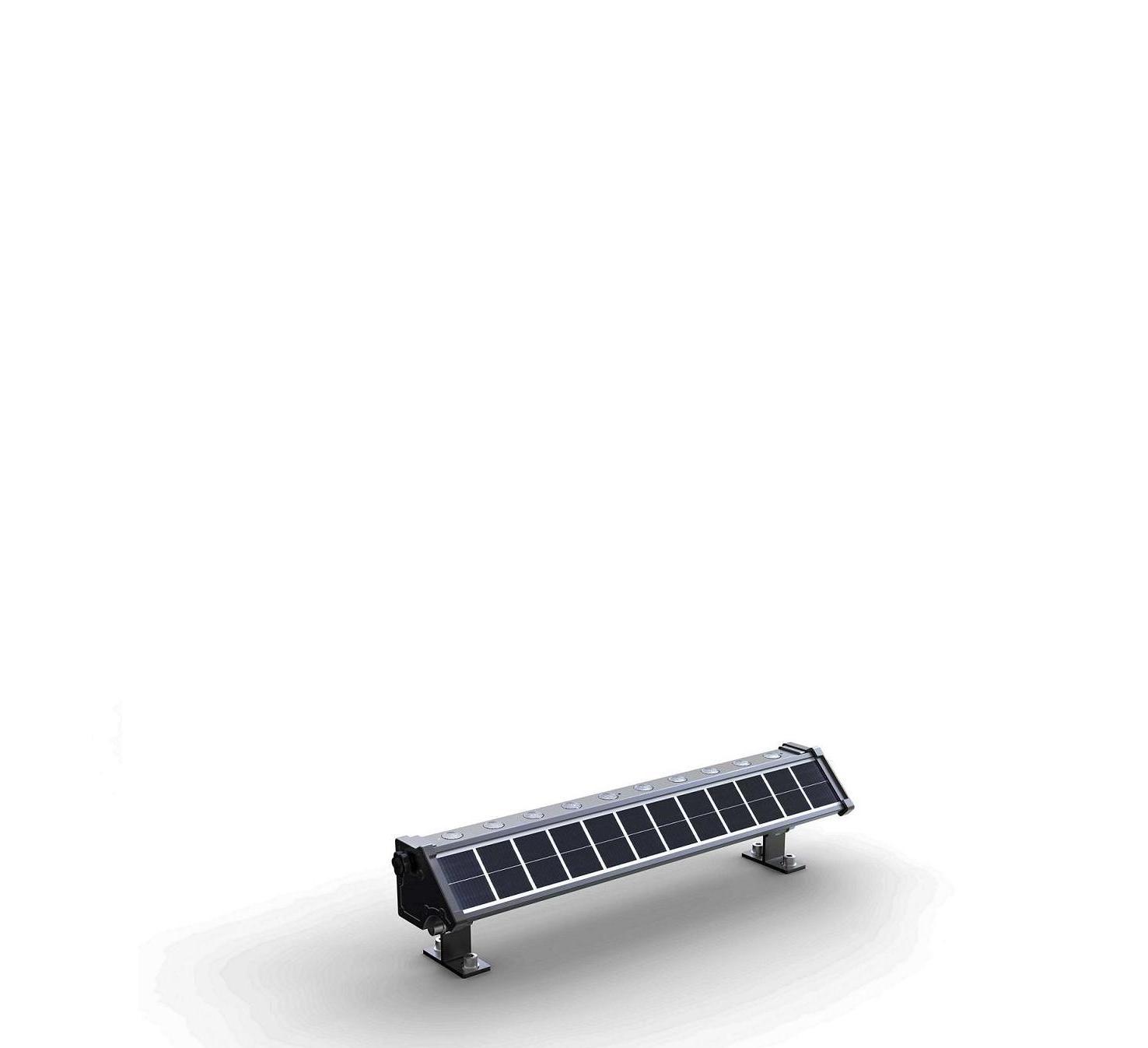 Faro led esterno energia solare per illuminazione insegne for Led per esterno