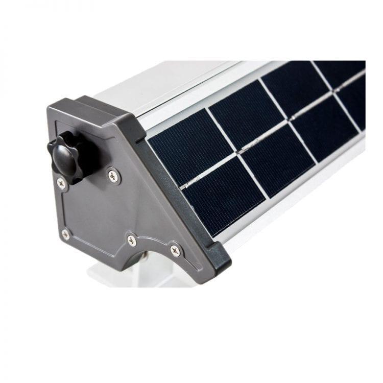 Faro led per insegne ad energia solare dettaglio
