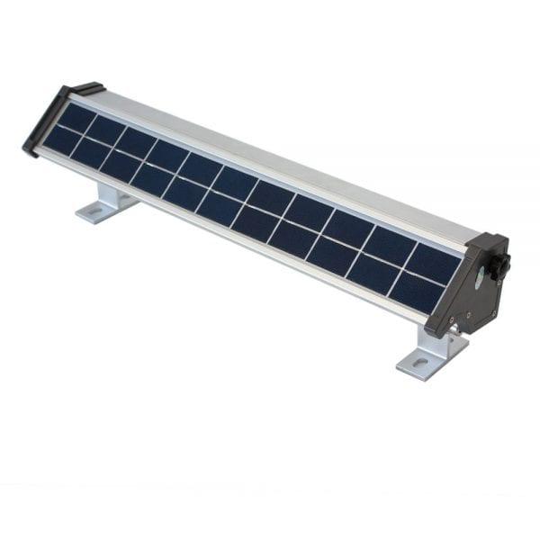 Faro solare per insegne a led luce calda 200 lumen