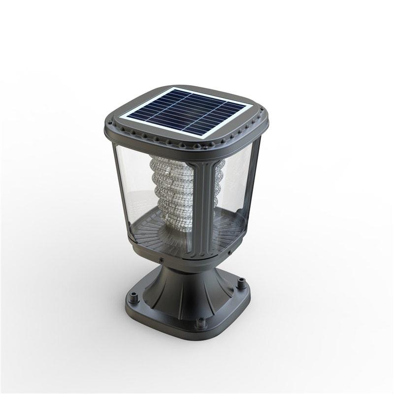 Lampada da esterno a led ad energia solare ecoworld - Lampada ad energia solare da esterno ...