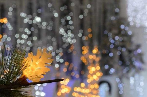 luminarie natalizie ad energia solare