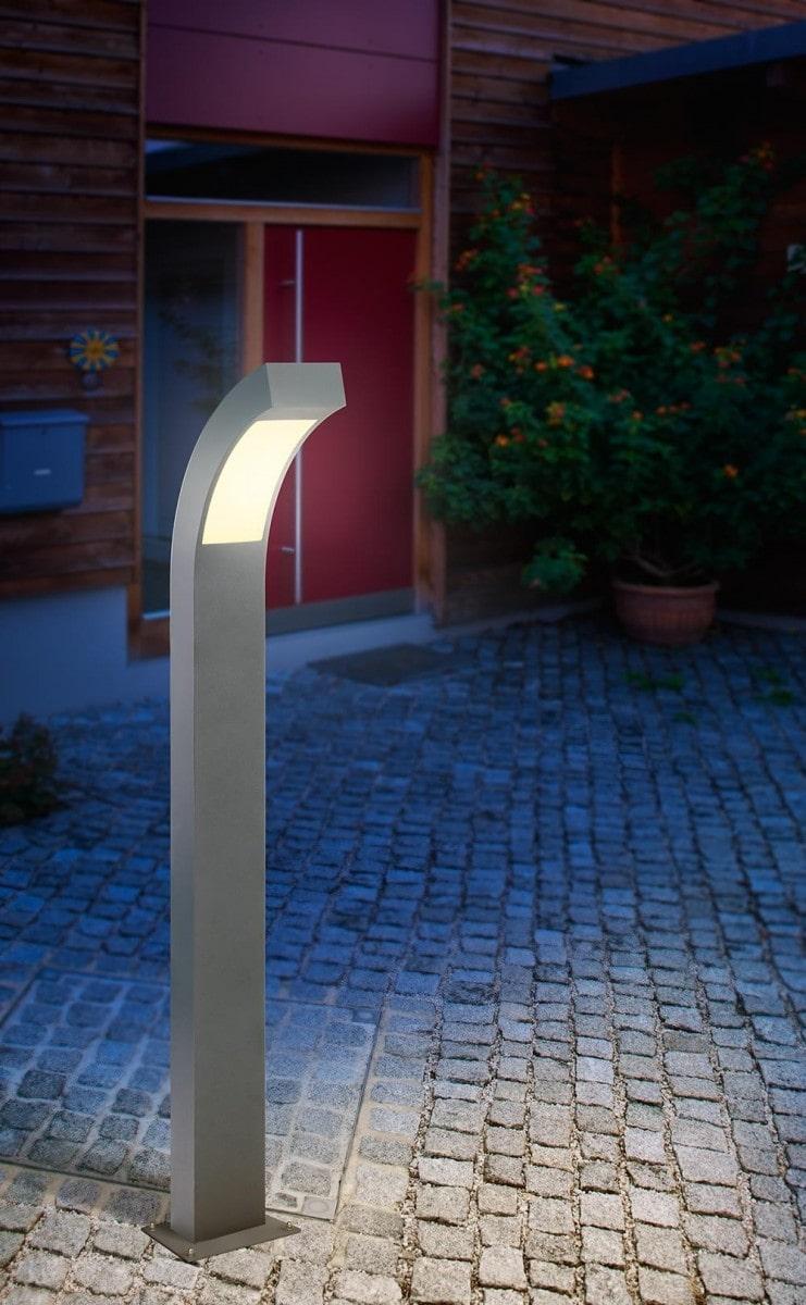 Illuminazione con lampioncino led altezza 100cm. colore bianco naturale