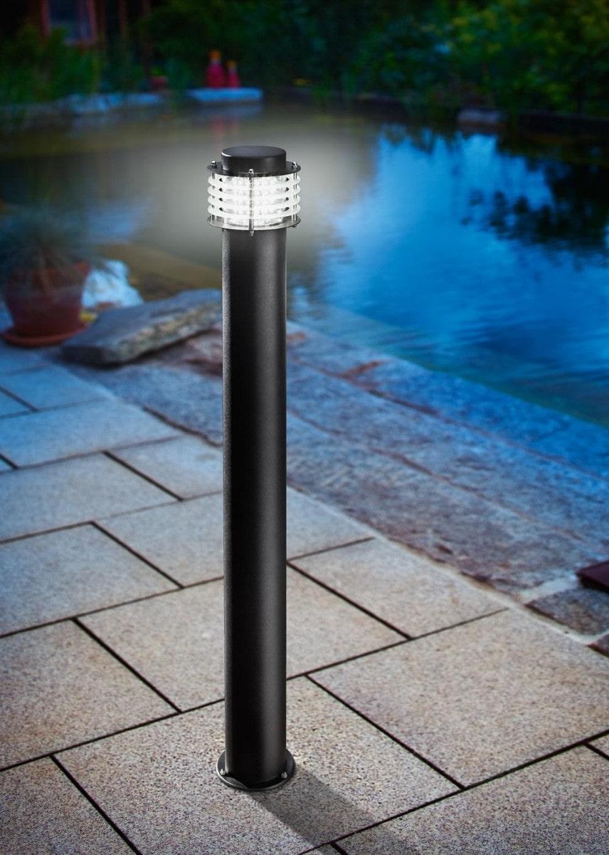 Lampioncino Led da Esterno altezza 80 cm flusso luminoso 300 lumen colore della luce bianco freddo