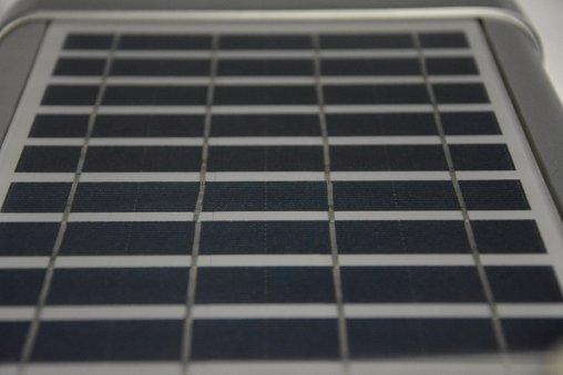 Pannello fotovoltaico del lampione a led solare