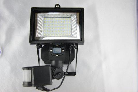 Faretto led ad energia solare con sensore di movimento ecoworld