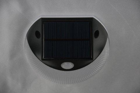Pannello fotovoltaico del segnapasso esterno