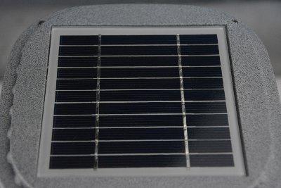 Lampade energia solare da giardino dettaglio pannello solare
