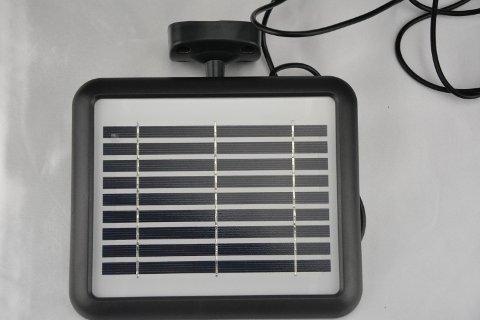 Pannello Fotovoltaico del faretto da esterno