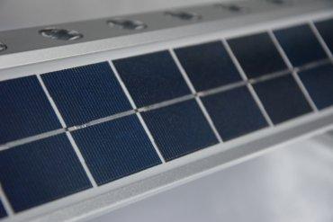 Pannello fotovoltaico del faro solare