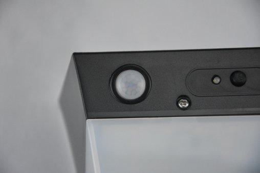 Applique solare parete sensore di movimento