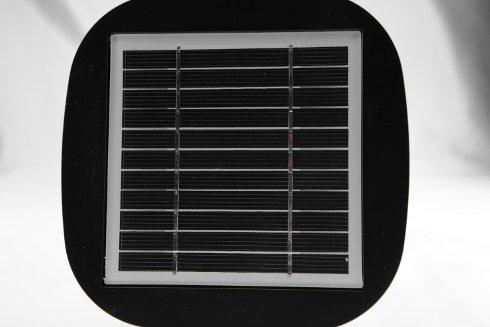 Pannello fotovoltaico del lampioncino da esterno solare