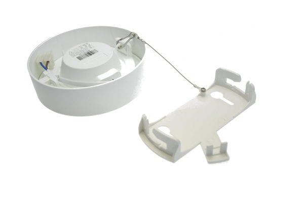 Fissaggio-plafoniera-led-6watt-rotonda
