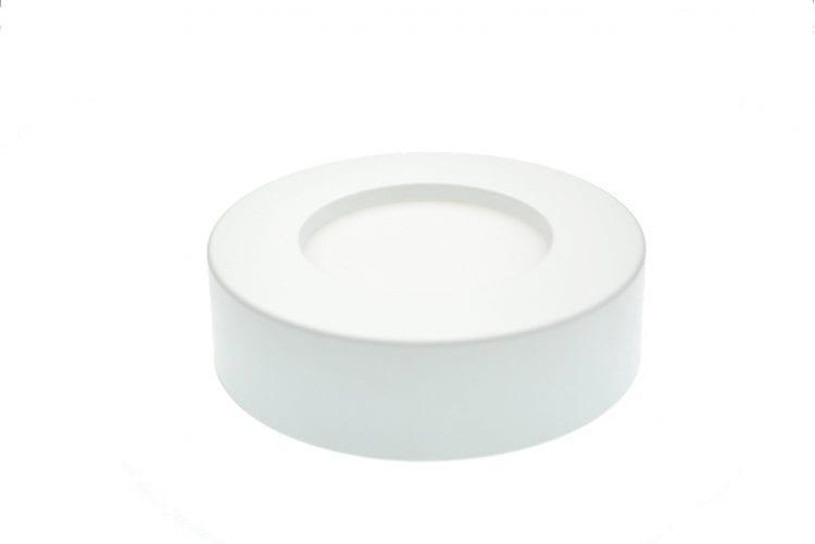 Plafoniera Led 6Watt plastica desgin circolare