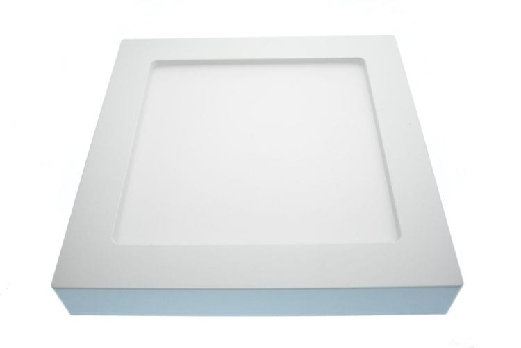Plafoniera led 18Watt moderna quadrata interni