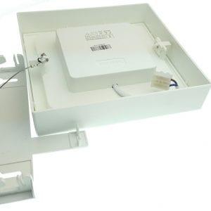 fissaggio-plafoniera-led-interni-quadrata