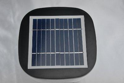Lampada da giardino a led con pannello fotovoltaico ecoworld shop