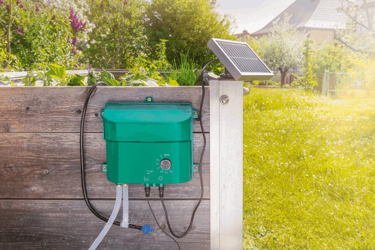 sistema irrigazione a energia solare