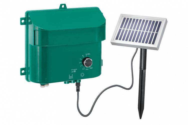 Impianto irrigazione orto energia solare