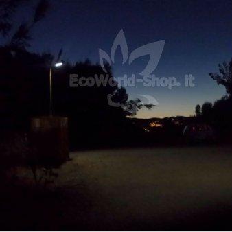 Illuminazione Nottura Lampione Energia Solare