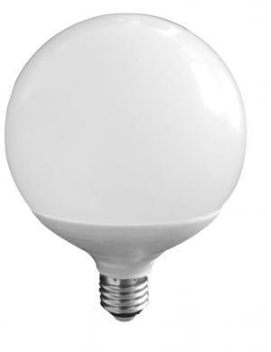 Lampadina Led 15Watt E27 Globo 1275 lumen colore della luce bianco freddo