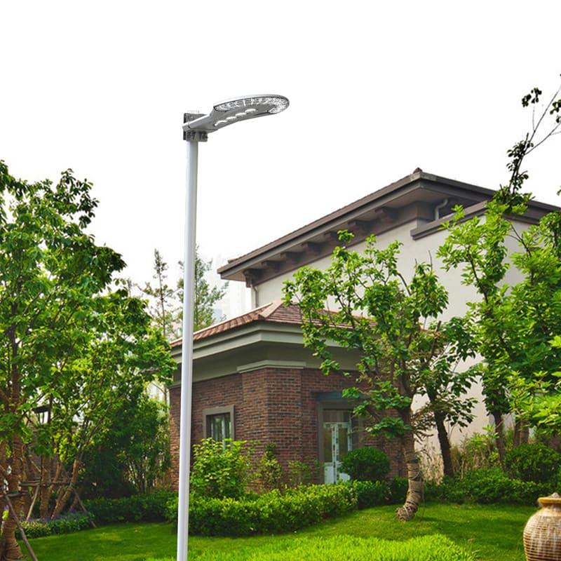Lampione Con Pannello Solare : Lampione solare con pannello fotovoltaico e telecomando