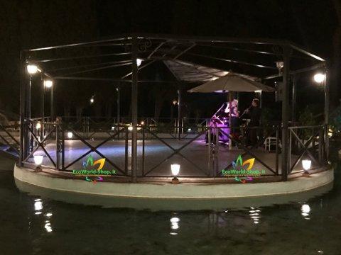 Lampade solari da giardino illuminazione pista da ballo