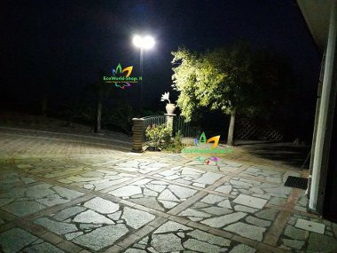 lampione led esterno per illuminaizone piazzali