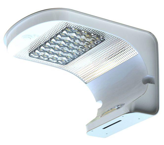 Lampada energia solare applique led per pareti 1000 lumen