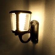 Illuminazione esterna con lampada ad energia solare