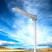 lampione a led solare
