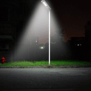 lampione esterno solare